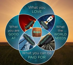 How to find your ikigai diagram